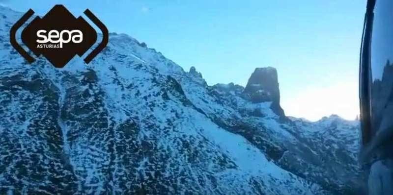 Rescatada una montañera de 40 años en Los Picos de Europa