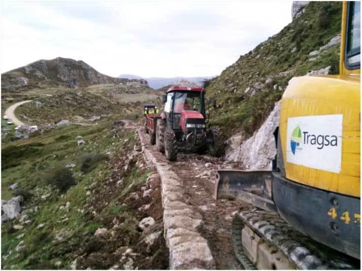 José Manuel Abeledo cree que las obras de la pista a la vega de Las Mantegas son otra humillación de las Administraciones con Onís
