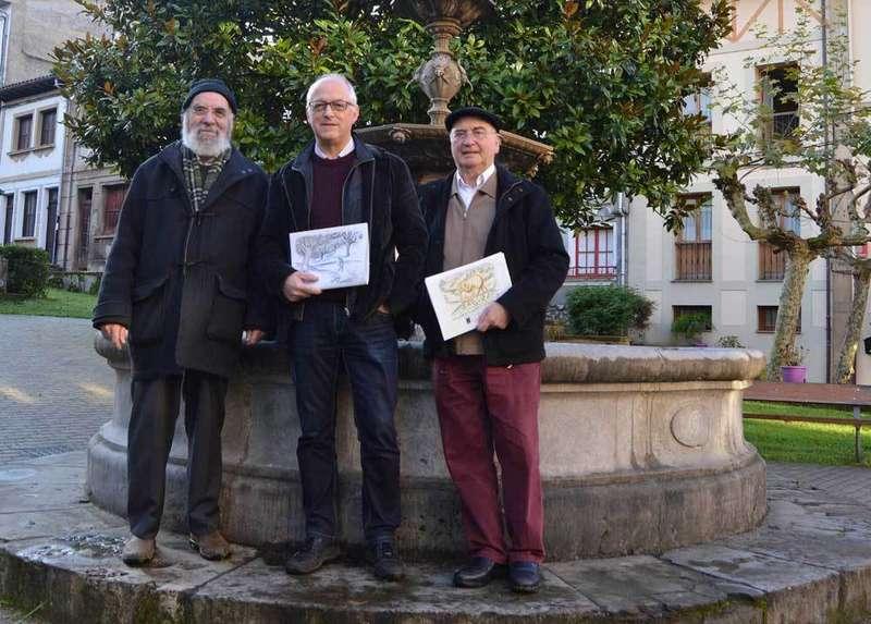 Monchu, Ángel Valle y Etelvino González.