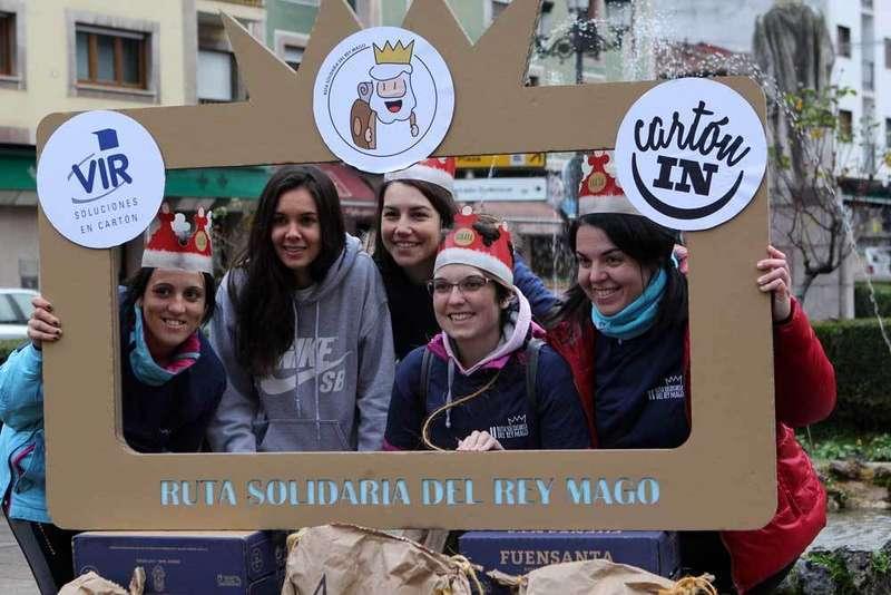 Los participantes salieron desde Cangas de Onís.
