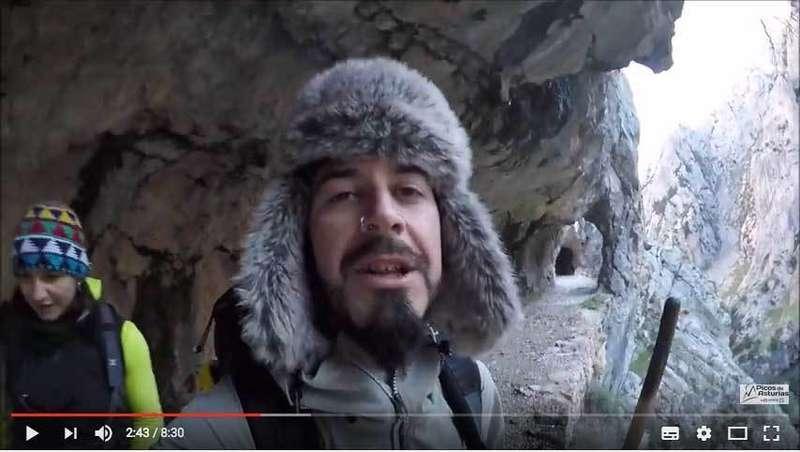 VÍDEO de La Ruta del Cares en madreñes