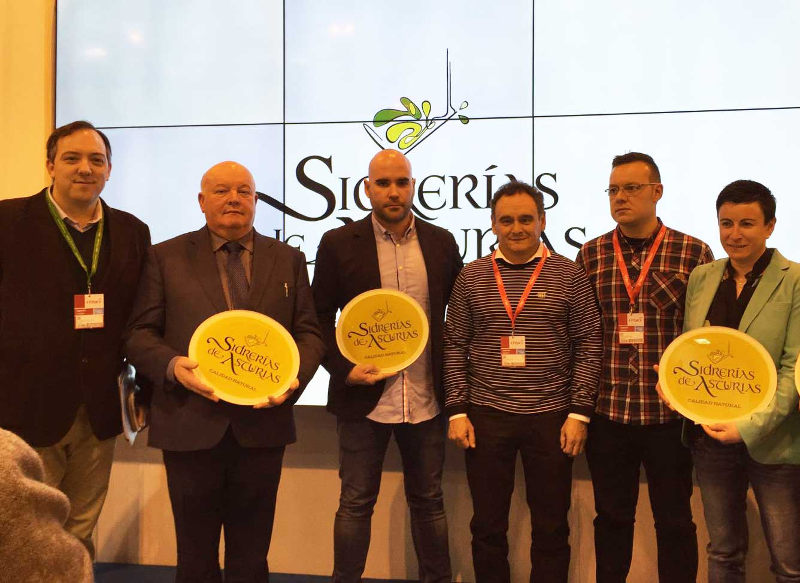 Asturias presenta en Fitur la marca Sidrerías de Asturias, Calidad Natural