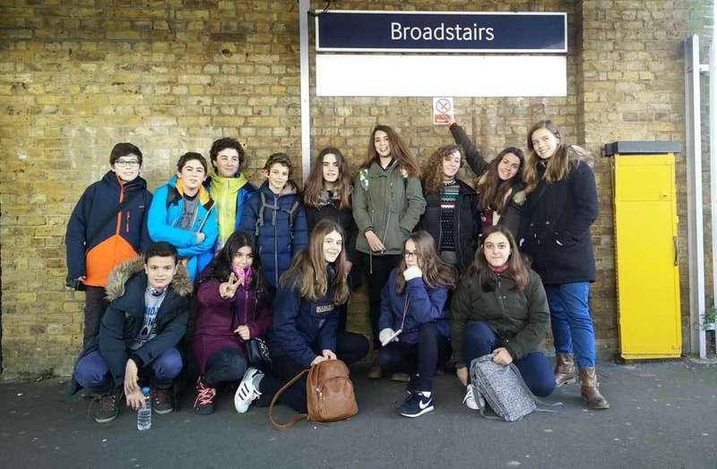 inmersión lingüística de alumnos de noreña en Inglaterra