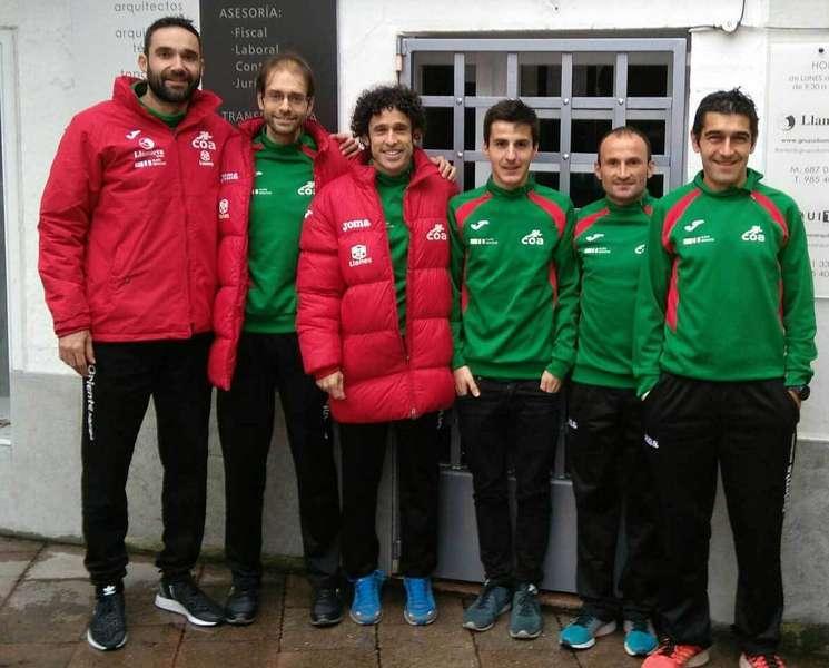 atletas del club oriente atletismo