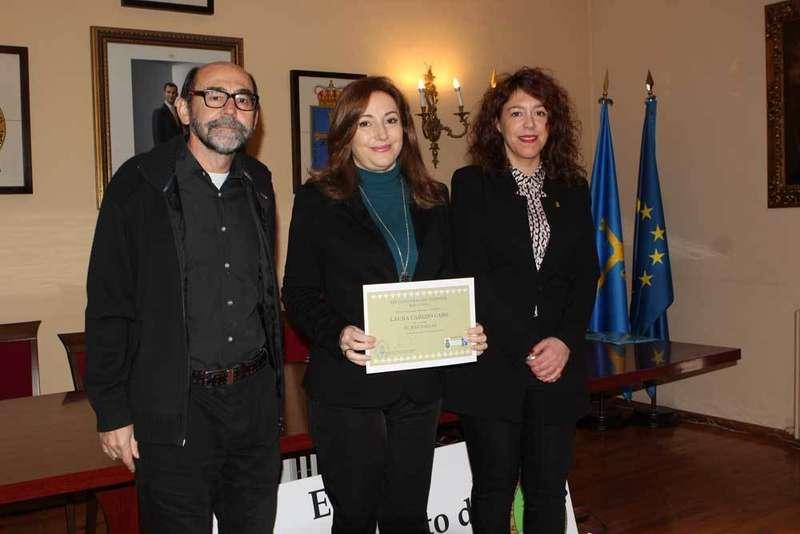 Hoy se entregó en Cangas de Onís el premio del XIX Concurso de Cuentos Berta Piñán