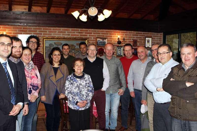 alcaldes del oriente de asturias en benia, fondos leader