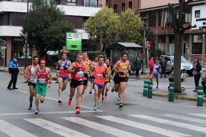 Media maratón corazón de asturias en Llanera y siete millas