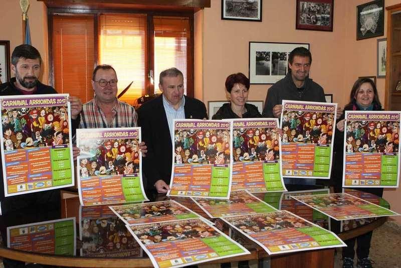 El Cuarteto Torner pregona el viernes el Carnaval de Arriondas