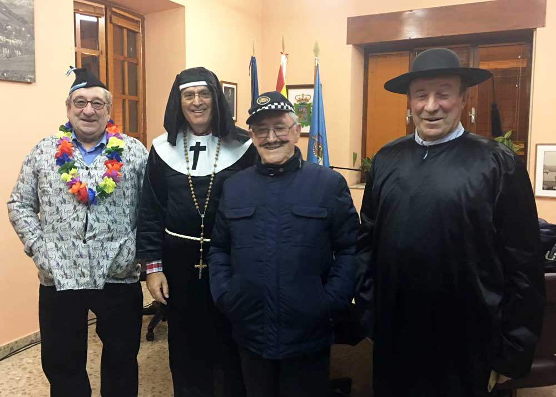 El Cuarteto Torner pregonó el Carnaval de Arriondas