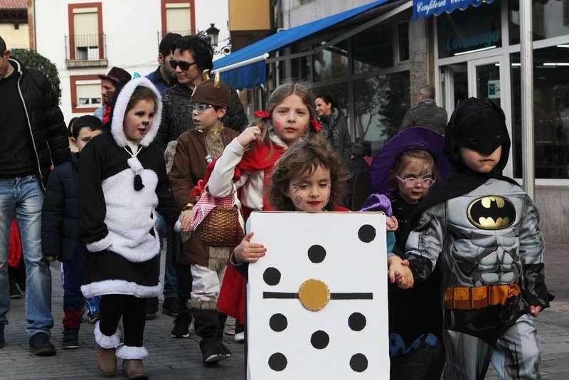 Desfile del Carnaval Infantil en Cangas de Onís