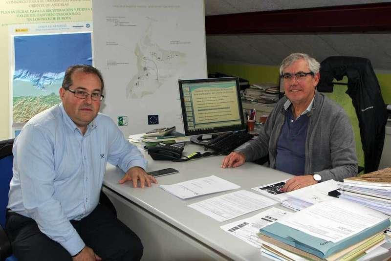 Ramón Galán y Maxi González, del Leader Oriente