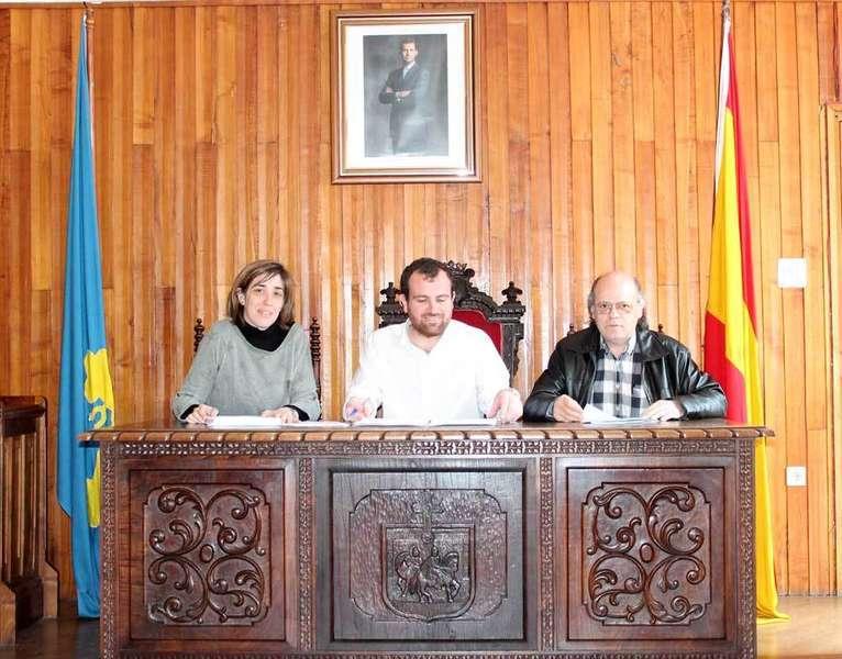 ivan-allende-alcalde-piloña-ferrero-gullón- concejales