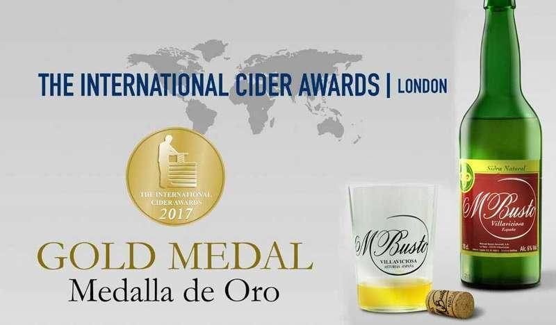 Medalla de Oro para Sidra Mayador en los Oscars Mundiales de la Sidra