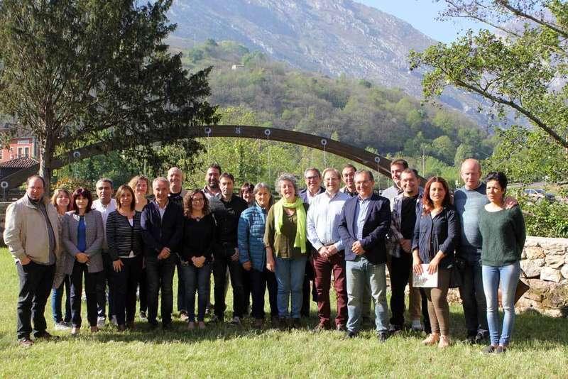 Los municipios de la Ruta Europea del Queso se reúnen en Cabrales