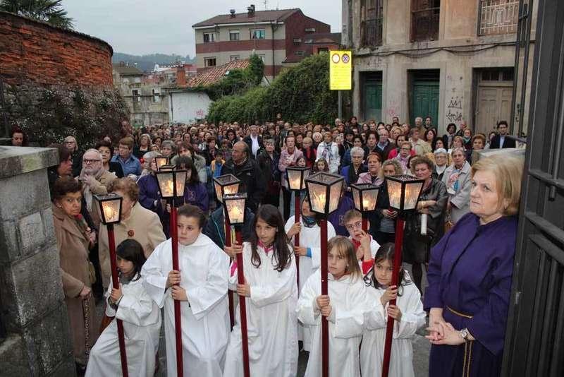 GALERÍA DE FOTOS de las procesiones de la Semana Santa de Siero