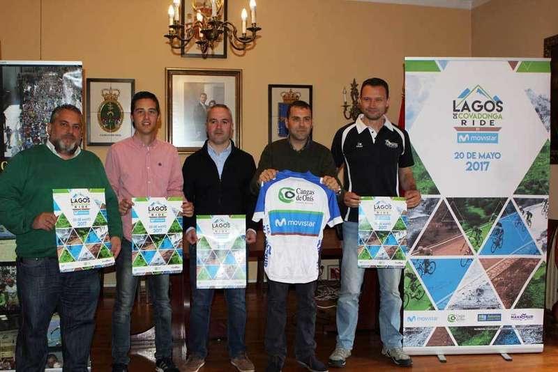 La Clásica Cicloturista Lagos de Covadonga la disputarán el 20 de mayo 3.900 participantes