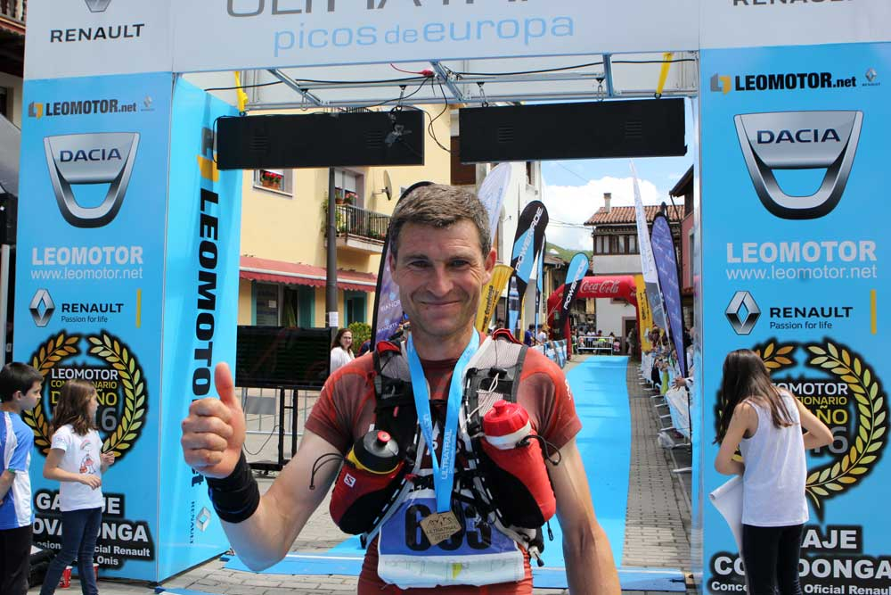 Manuel Pérez Nestar, con 6 horas y 15 minutos, pulveriza el récord de la Ultra Trail Picos de Europa