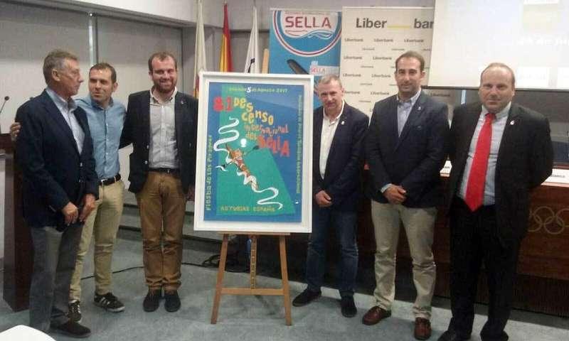 El cartel del 81 Descenso Internacional del Sella se presentó en la sede del Comité Olímpico Español