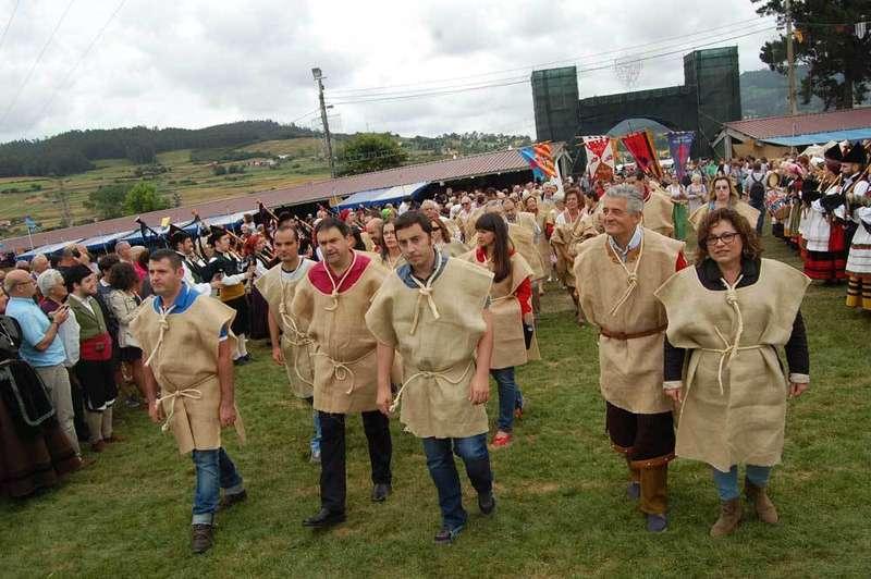 Los Exconxuraos peregrinaron a Oviedo para pedir el perdón.