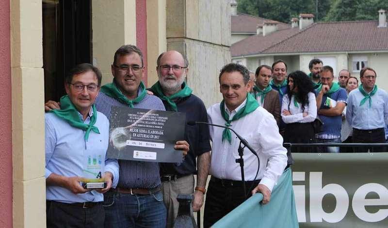 Val de Boides del lagar Castañón se alzó como la Mejor Sidra de Asturias del Festival de Nava