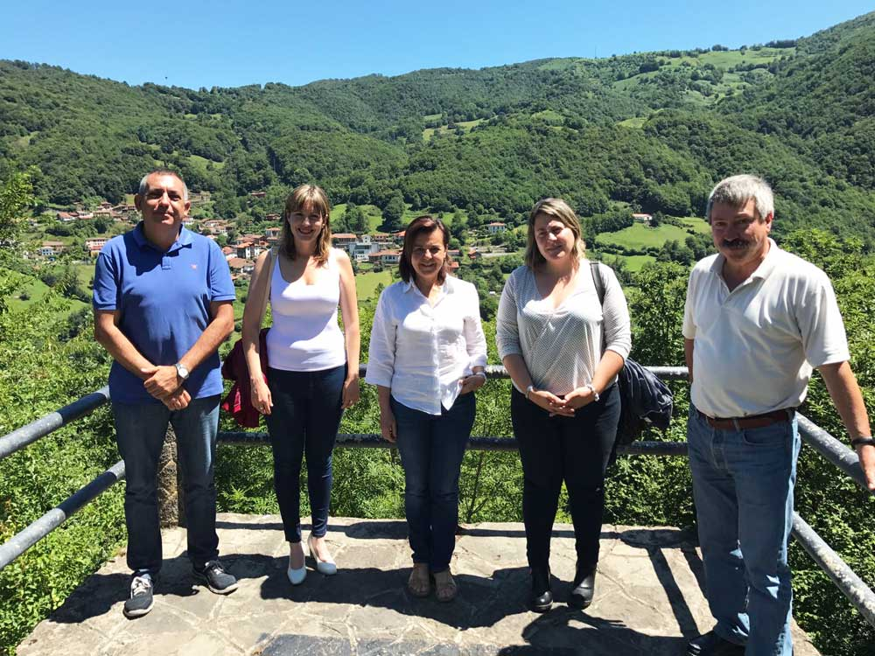 Desarrollo Rural invertirá 130.000 euros en el Parque Natural de Ponga hasta final de año