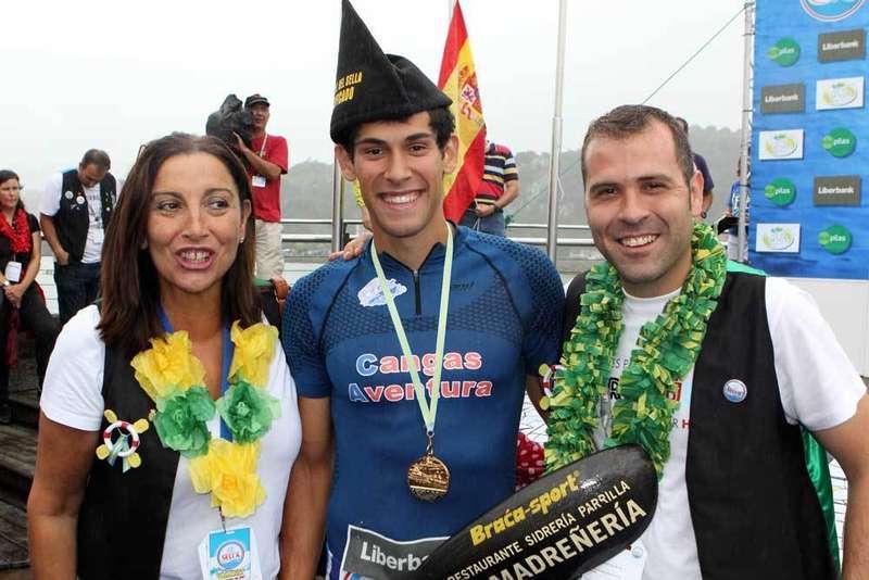 El cangués Alberto Plaza Sagredo ganó el Sella en K-1