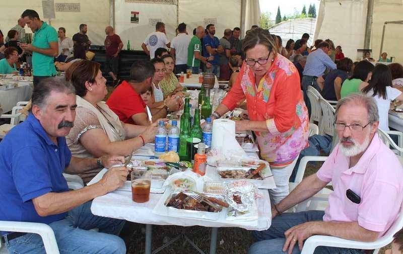 Más de 500 personas participaron en la corderada de Argüelles