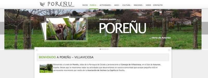 POREÑU, en Villaviciosa, Pueblo Ejemplar de Asturias 2017