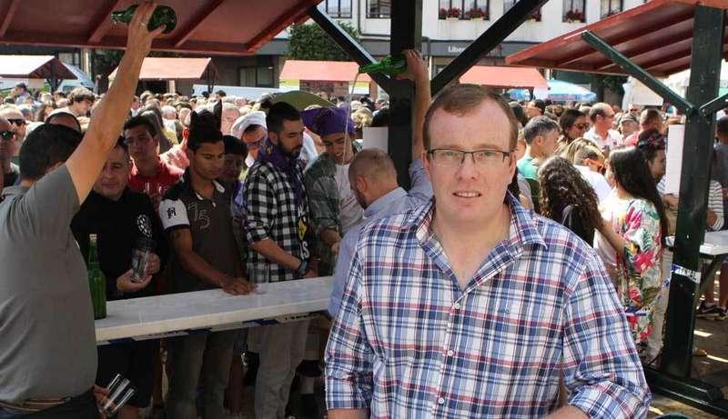 Tino Cortina pregonará el viernes las fiestas del Portal de Villaviciosa