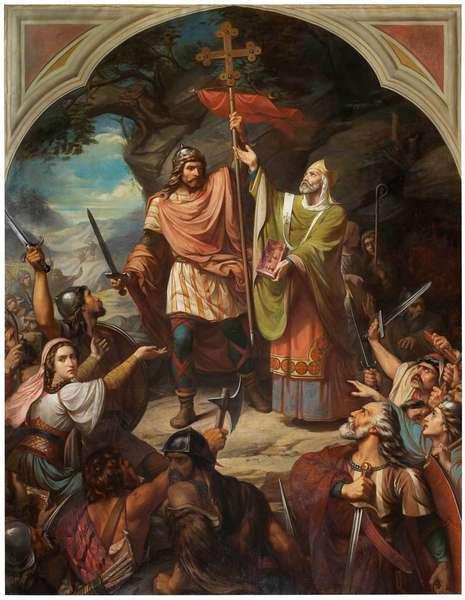 Don Pelayo, trece siglos después