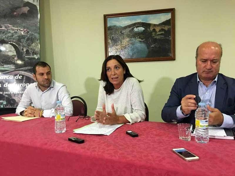 El PP pone en marcha la locomotora del tren cremallera a Los Lagos de Covadonga