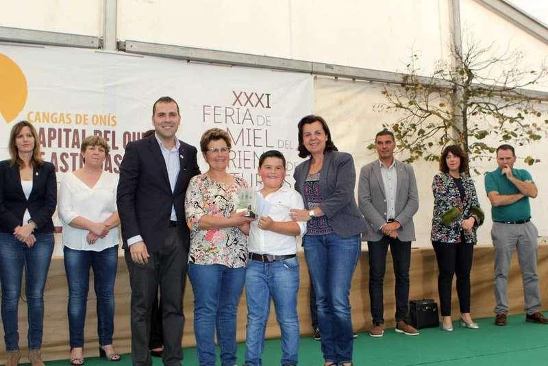 El Gamonéu del Puertu de la Quesería Gumartini otra vez ganador en Cangas de Onís