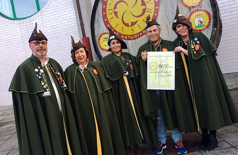 Los Siceratores celebran su IV Gran Capítulo en Nava
