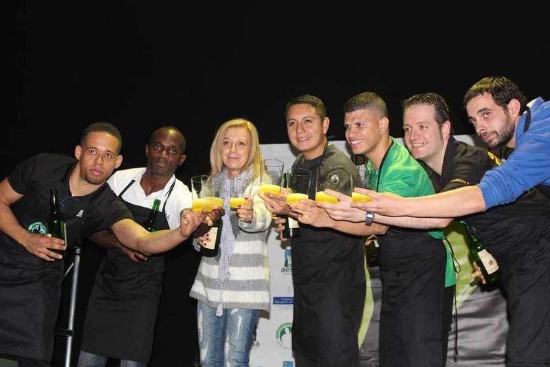 El domingo se decide en Arriondas el Campeonato de Asturias de Escanciadores