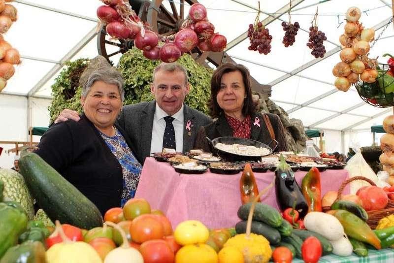 Hortensina González Güemes  y María Dolores Álvarez Costales triunfan en la Castaña de Arriondas
