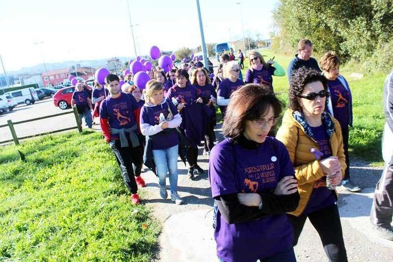 marcha-en-contra-violencia-género-concejo-de-Siero