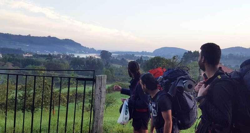 Camino-del-norte-peregrinos-Santiago