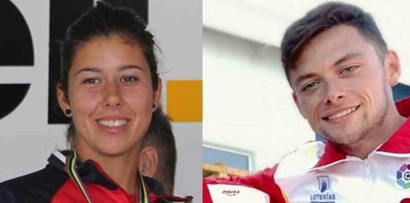 Celia Remis y Víctor Vázquez Llenín recogen  el galardón como mejores deportistas de Parres