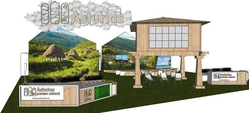 El stand de Asturias en FITUR 2018 albergará más de 30 presentaciones