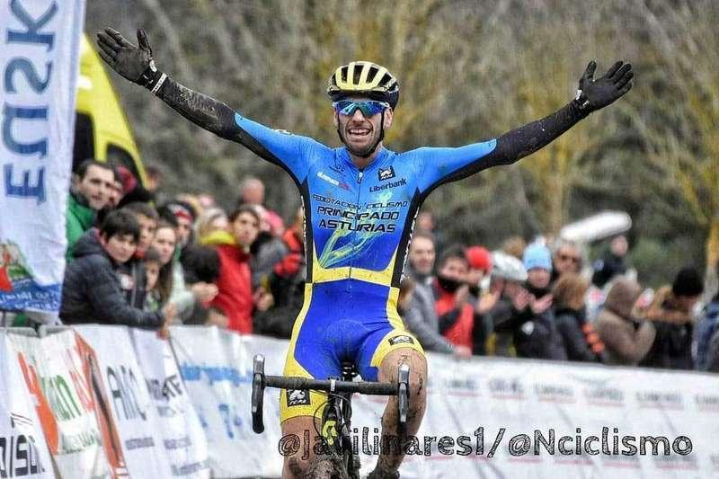 El cangués José Luis Blanco Teleña se proclamó Campeón de España de Ciclocross Máster 30