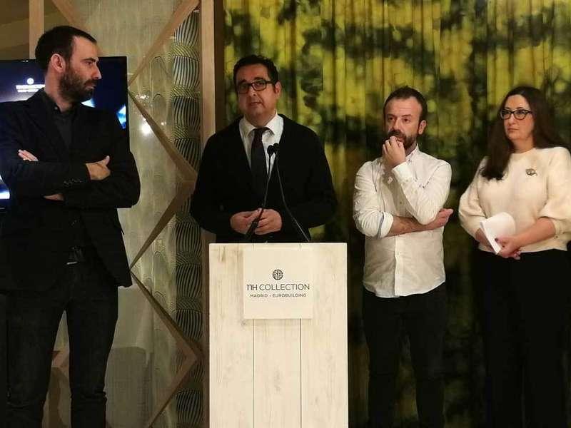 Los hermanos Nacho y Esther Manzano promocionarán en Madrid la gastronomía asturiana