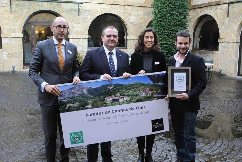 El Parador de Cangas de Onís es el mejor de España, por segundo año consecutivo, para los usuarios de TripAdvisor