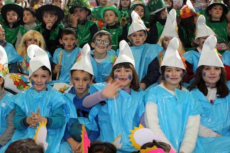 Carnaval y chocolatada en el Colegio Público Reconquista de Cangas de Onís