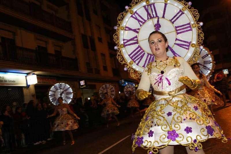 El grupo Tic Tac de Llanes gana también en el Carnaval de Arriondas