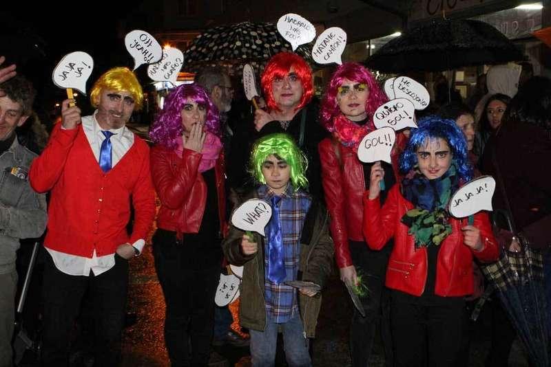 Más de 3.500 personas siguieron el desfile de Carnaval en Posada de Llanes