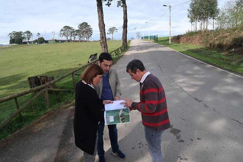 Una senda peatonal unirá el recinto ferial de Llanera con San Cucao