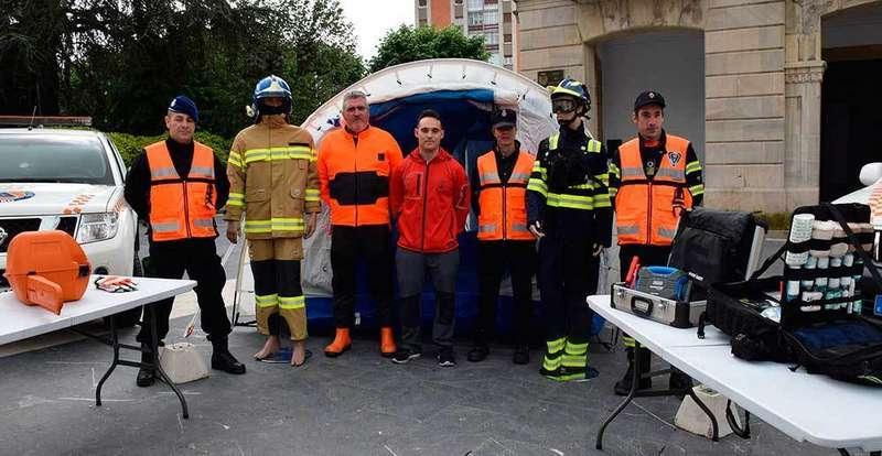 La Agrupación de Protección Civil de Siero incorpora nuevo material para sus actuaciones