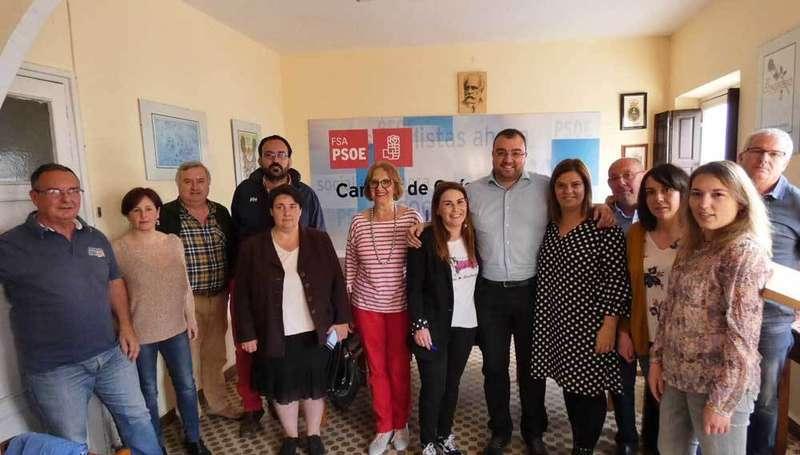 Vanesa González ya es la nueva secretaria general del PSOE de Cangas de Onís