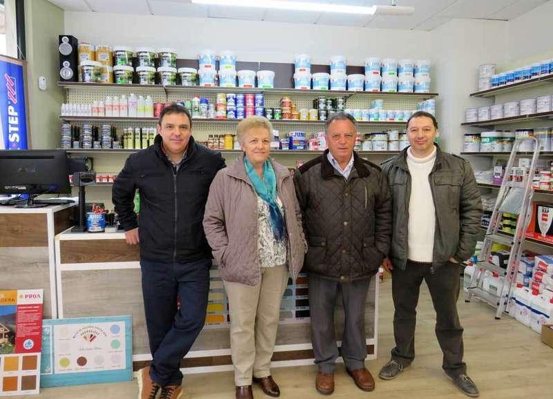 Nueva tienda de Pinturas Soto en Cangas de Onís