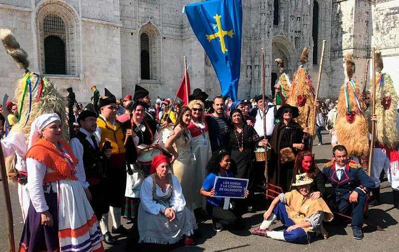 Los Sidros y sus Comedies participan en una nueva edición del festival de la Máscara Ibérica de Lisboa